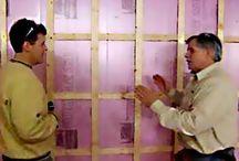 basement/foundation insulation / by Lynn Johanson