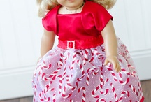 AG  DOLL HOLIDAYS OUTFITS-CHRISTMAS- CHRISTMAS / by Audrey Overbaugh