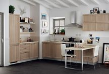 Highland - Kitchens / Design by Scavolini | The tradition of country homes with new simplicity and elegance / by Scavolini