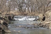 Waterfall Dams in Kansas / Dams in Kansas  / by Kansas Dams
