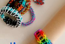 Somewhere over the rainbow loom creations / by Melissa S