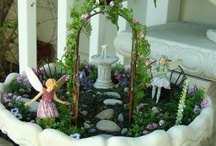 fairy gardens and fairy stuff! / by Janice Hilts