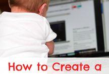 Blogging / by Andrea Green (thegreenbacksgal.com)