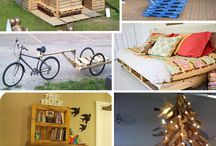Pallets,pallets and more pallets!!! / by Valerie Carroll