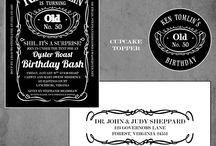 Adult Birthday Designs / by Matinae Design Studio
