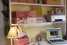 WORKROOM INSPIRATION / by Cynthia Schoettle-Bland