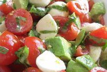 Salads  / by Christa Jolly