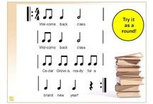 Music Classroom ~ September / by Ann Brandner Westenberg