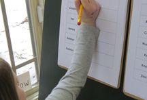 Preschool Daily Routine Ideas / by Amy Buchanan