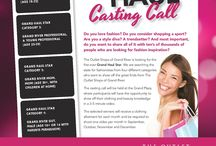Grand Haul Casting Call  / The Outlet Shops of Grand River is looking for the first ever Grand Haul Stars!  We are searching for 4 superstars that are excitable, spontaneous and have a knack for talking all things fashion. Auditions will be held at The Outlet Shops of Grand River on Saturday, August 10 and 17 from 1pm-4pm.  / by The Outlet Shops of Grand River