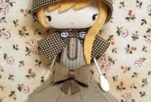 Dolls, handmade / by mari boone