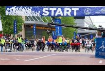 Rollin on the River - 2014 River Bank Run / Proud sponsor of Wheelchair and Handcycle divisions for 25 years. Amazing time seeing athletes of all caliber run or wheel a 25K race. #MFBRollin / by Mary Free Bed Rehabilitation Hospital