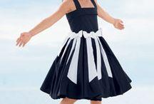 DIY Girls Dresses / Also see my board on DIY Little Girl Skirts.   / by Beth Davis