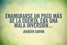 Joaquín Sabina / by Cinthya Jimenez