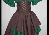 Renaissance Costumes/Steampunk / by Ashley Berube