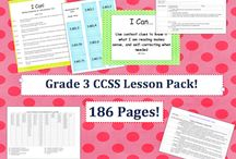 common core planning / by Jessica Ashe