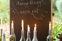 Wine wall / by Tammy Lamp