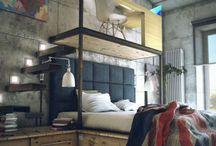 Bedrooms / by Ruth Malvoisin