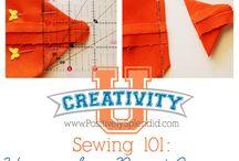 sew & crochet / by Red Walker