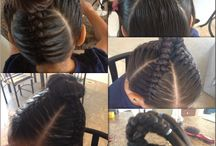 Little girl hairstyles / by Andrea Davis