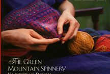 The Green Mountain Spinnery Book  / Green Mountain Spinnery has collected for the first time 30 of their best loved contemporary and classic patterns including new designs exclusive to this book. Beautiful full-color photographs, pattern charts, and schematics accompany detailed knitting instructions for appealing sweaters, vests, cardigans, children's sweaters, and accessories: hats, scarves, socks, and mittens in sizes for all ages. / by Green Mountain Spinnery