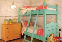 Bunk bed for Aidyn Claire / by Emily Gardner