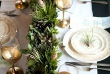 Christmas table / by Mademoiselle Marie