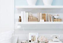{Book Cases & Shelf Styling} / by Lundi Carroll