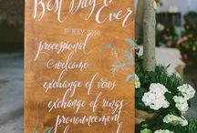 Wedding decor / by Jordyn Frick