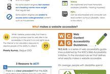 Inclusion y accesibilidad Digital / by Samuel A Villegas A