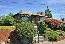 My Seattle vacation rental / Great 1950's rambler in a quiet, West Seattle neighborhood with a view of Puget Sound.  Three bedroom home available for daily, weekly or monthly vacation rental. / by The Cove School