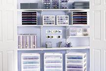 Craft Closet Ideas / by Kerri Masseo