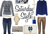 ND Football - Go Irish!!! / by Kerrie Cleveland