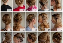 Hair: Up-do's / by Justine Brewer