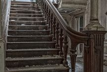 abandoned stairs / by Susan Thompson