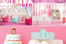 Party ideas/themes for girls / by Simly T