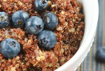 cool food- quinoa / by Holly Shelton