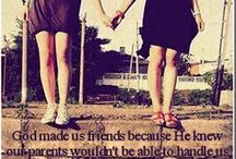 me and my best friend all day err day! / by Katlyn Yost