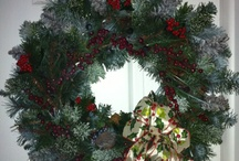 Welcome! / Front door wreaths for all seasons / by Sarah Staples