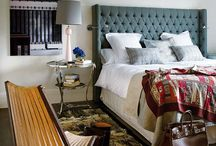 bedrooms / by Jana Wyckoff