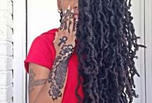 LOCS, LOCS & MORE LOCS / by Mavis Wiggins