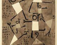 à la manière de ...: artistes / les artistes qui m'inspirent / by Christel Ponsero