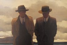 Jack Vettriano Art / by Joel Armstrong
