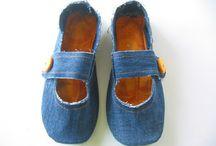 DIY met oude jeans / by Marieke de Zwart