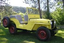 Willys CJ-2A / 1945-1949 Willys CJ-2A / by Kaiser Willys Auto Supply