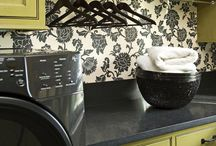laundry room / by Rebecca Brywczynski