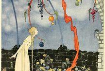 old French Fairy Tales / um lugar para ilustras perfeitas. / by Sabine Araujo