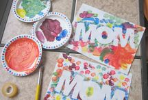 mothers day/fathers day crafts / by Jennifer Beaves