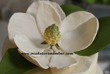 gumpaste flowers / by A Cake To Remember LLC --Kara Buntin