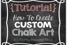 Chalkboard Art / by Megan Chavez